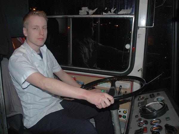 POSLEDNÍ JÍZDA jediného kusu trolejbusu Škoda 15Tr vÚstí nad Labem.