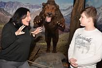Od 19. února do 18. června je v ústeckém muzeu výstava nazvaná Nelítostný pravěk.