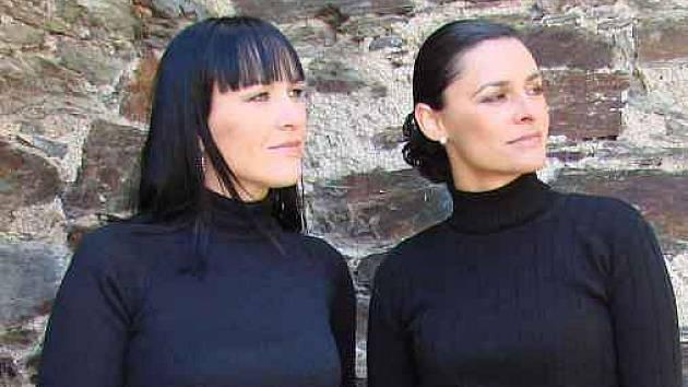 Duo Two Voices, na snímku, ale bez hoslisty, který je v Litoměřicích zítra doprovodí