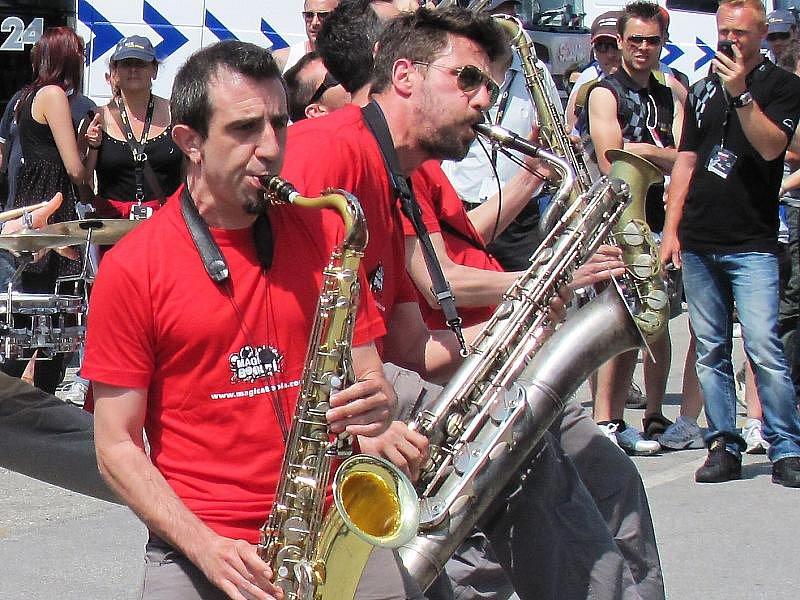Mistrovství Evropy tahačů v italském Misanu.