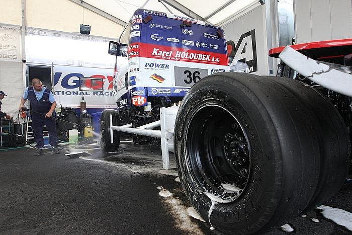 Czech Truck Prix, neboli Mistrovství Evropy tahačů.