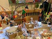 Ústecká ZŠ a MŠ SNP6 uspořádala velikonoční trhy