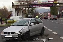 Nedání přednosti v jízdě bylo příčinou dopravní nehody ve Všebořicích.
