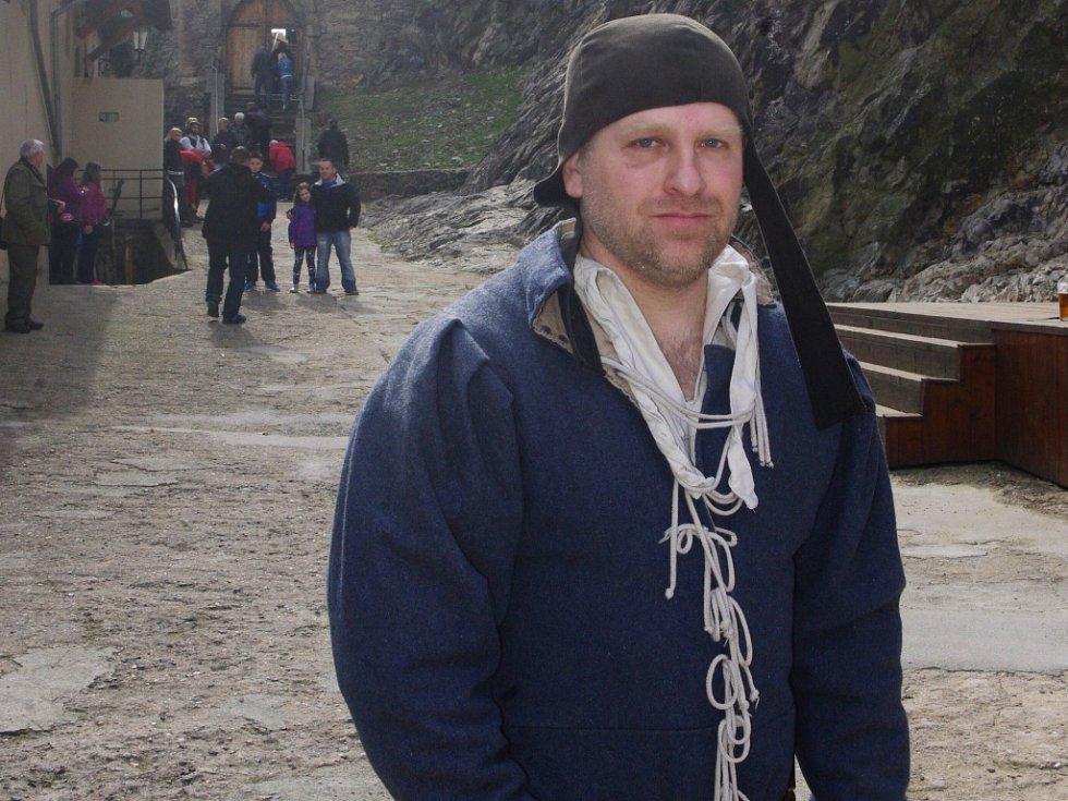 Pavel Kučaba, kastelán hradu Střekov.