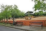 محوطه جدید آفریقایی در سامبورو در باغ وحش Usti nad Labem