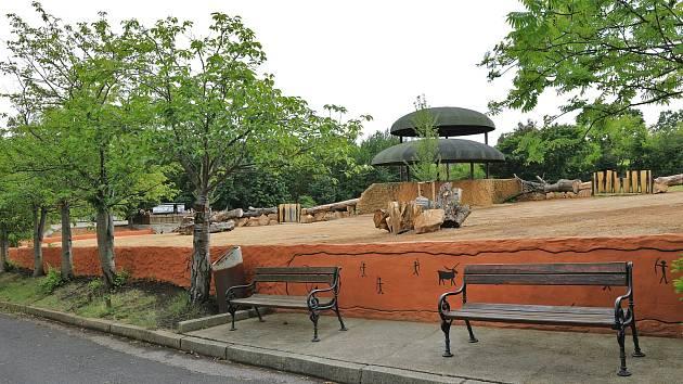 Nový africký výběh Samburu v Zoo Ústí nad Labem