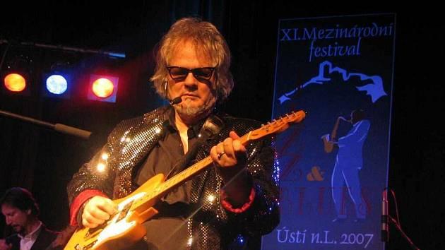 Z Jazz & Blues festivalu...
