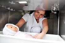Andrejka je třetím novorozencem, kterého našli ústečtí zdravotníci v babyboxu. Ilustrační foto.