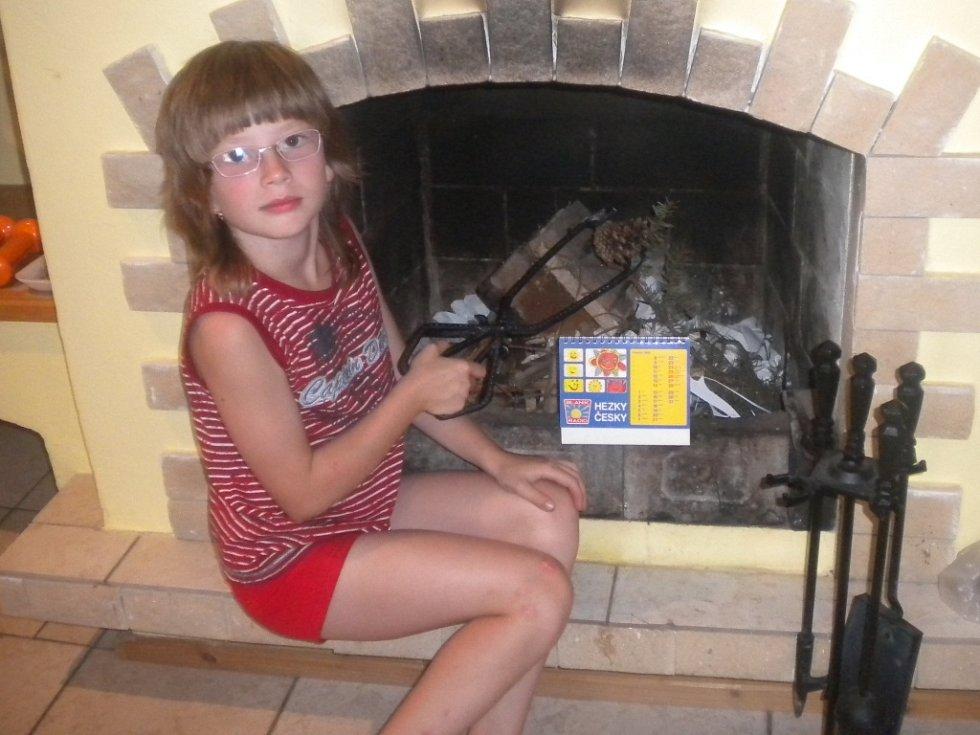 43. KATEŘINA LIPČÁKOVÁ, 8 let, Chabařovice.