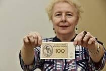 Ústecké muzeum připomíná sérii bankovek pro Židy zavřené v Terezíně