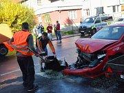 Nehoda ve Všebořické ulici
