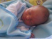 Vojtíšek Pícha se narodil v ústecké porodnici 22.8.2016 (9.45) Petře Gutbierové. Měřil 43 cm, vážil 1,99 kg.
