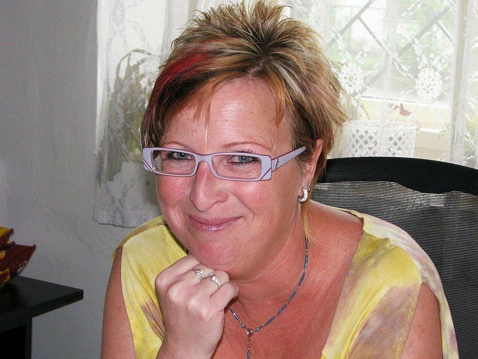 Starostka Renata Zvoníčková.