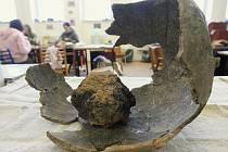 Archeologické nálezy ze středověkého Ústí dnes uchovává v depozitářích ústecké muzeum.