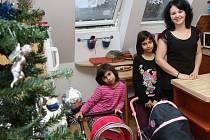 Vánoce v záchytném zařízení Střekováček, které je součástí střekovského dětského domova.