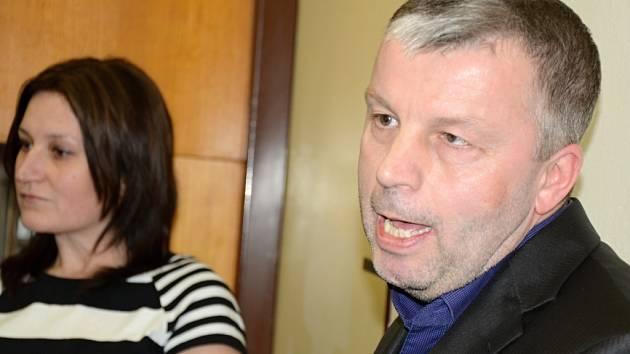 Starosta Malečova Petr Kůstka.