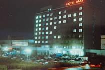 Hotel Máj v době největší slávy.