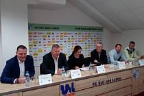Tisková konference FK Ústí nad Labem jaro 2019