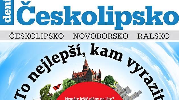 Nejnovější vydání Týdeníku Českolipsko