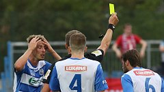Fotbalový zápas mezi Ústím a Brnem