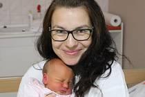 Lucie Vlková se narodila v ústecké porodnici 10.10.2015 (5.19) Lucii Vlkové. Měřila 49 cm, vážila 3,06 kg.