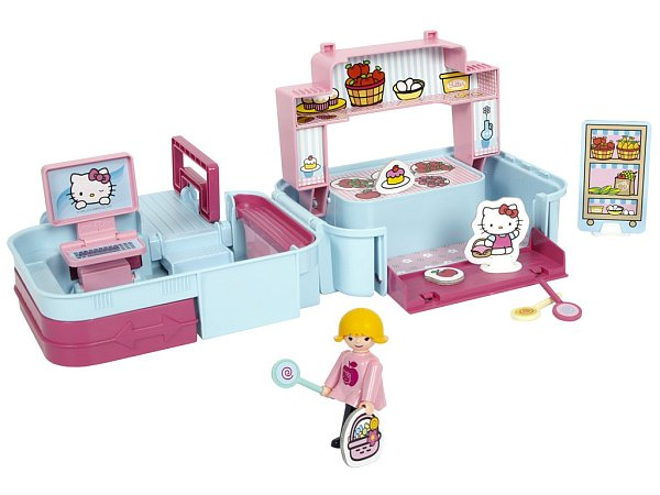 Igráček je vším, na co si vzpomenete. Farmářem, číšníkem, ale dnes ho také najdete už ive světě Hello Kitty.
