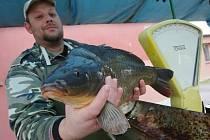 Čerstvé ryby budou na sádkách Českého rybářského svazu v Chabařovicích prodávat opět od soboty 20. prosince do úterý 23. prosince.