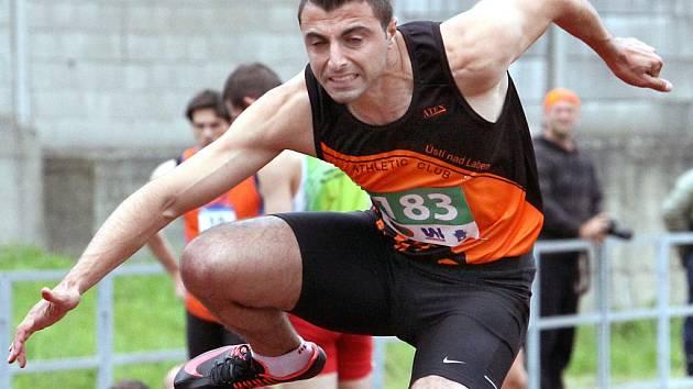 Libanonský sprinter Ali Hazer je už delší dobou oporou prvoligového družstva AC Ústí nad Labem.