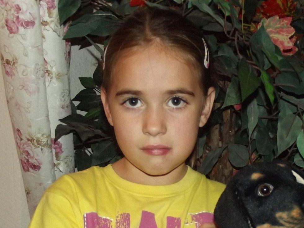 8. TEREZA TOMÁŠKOVÁ, 8 let, Děčín.