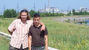 Šimon Dvořák v Černobylu