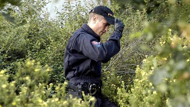 Policie našla ostatky u Gymnázia dr. Václava Šmejkala