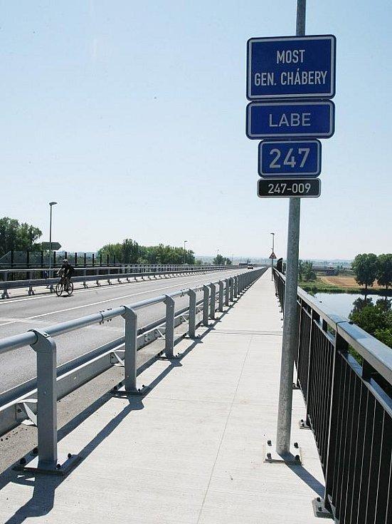 Most generála Chábery přes Labe bude nejspíš nominační jedničkou z Litoměřic.