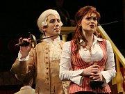 Muzikál Casanova v nastudování ústeckého divadla.