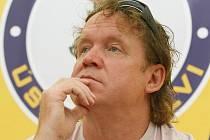 Trenér Lvů Petr Rosol.