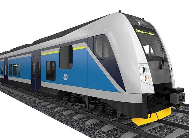 Kontrakt na dodávku nových jednopodlažních pantografů uzavřely České dráhy se společností Škoda Vagonka. Sedm jednotek pro Ústecký kraj vyjde téměř na miliardu.
