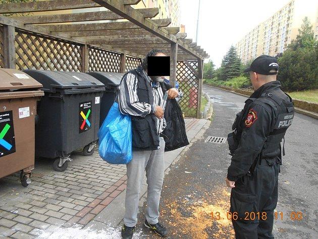 Bezpečnostě preventivní akce městské policie vÚstí nad Labem.