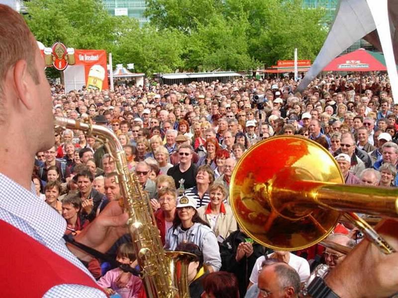 Dixielandový festival Oldtime Jazz.