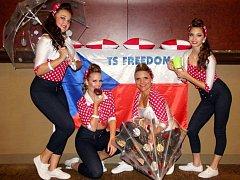 Tanečnice z Ústí přivezly z prestižní soutěže talentů medaile.