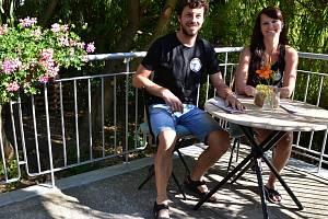 Nela Müllerová a Vít Polehňák otevřeli v Ústí Krafárnu