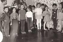 Trmice - Mateřská škola, ročník 1966 - 67.