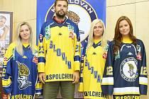 Ústečtí hokejisté představili novou kolekci zápasových dresů.