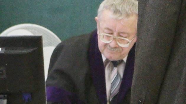 Soudce Josef Knotek.