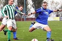 Fotbalisté Chuderova nastříleli Ravelu neskutečných sedm branek.