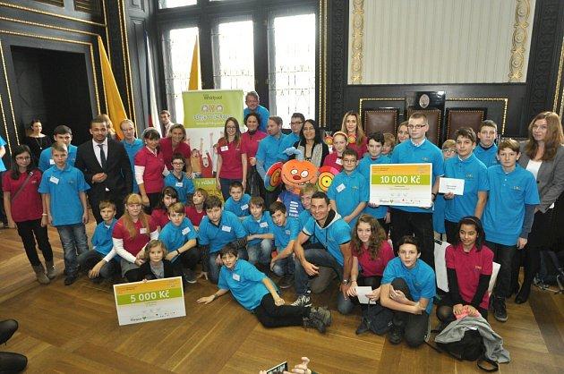 Vyhlášení vítězů se konalo vBrožíkově síni na Staroměstské radnici vPraze.