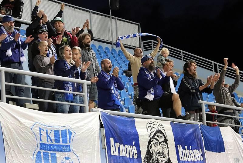 FK Ústí - Varnsdorf, FNL 2021/2022. Fanoušci ilustrační. Kam za sportem ilustrační. Fotbal ilustrační