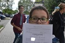 Ústečtí školáci dostali vysvědčení, prvňáčků bylo skoro dvanáct set.