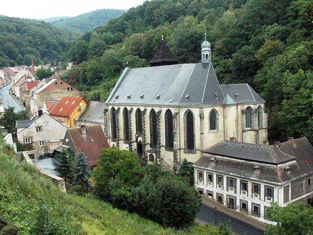 Kostel Nanebevzetí Panny Marie v Krupce.