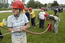 Berborka v tradiční hasičské soutěži USP