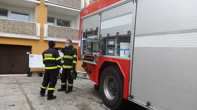 Desinfekce v Městském ústavu sociálních služeb v Jirkově, ve středisku U Dubu, probíhá celý týden.