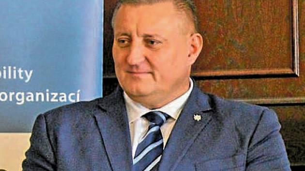 Náměstek hejtmana Martin Klika